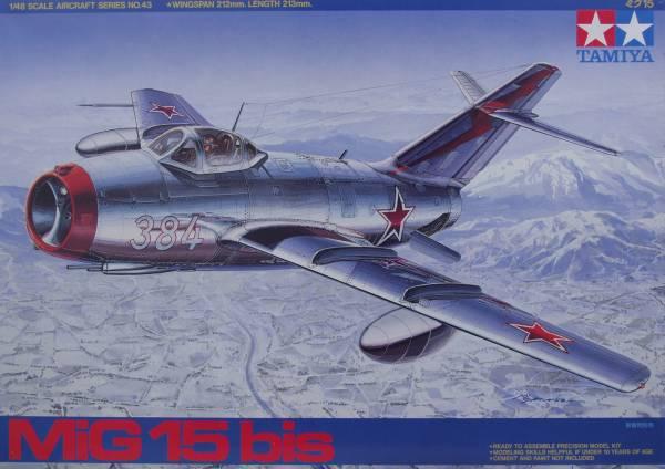 MiG 15bis FIGHTER BOXED PLASTIC MODEL KIT AVIATION