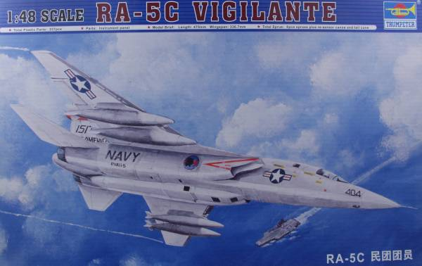 Eduard 1//48 North American RA-5C Vigilante PRE-PAINTED IN COLOUR